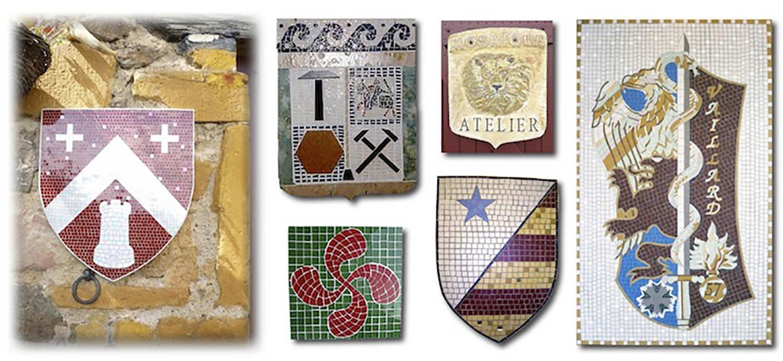 Autres modèles de blason, insigne, emblème personnalisés réalisés dans différents matériaux